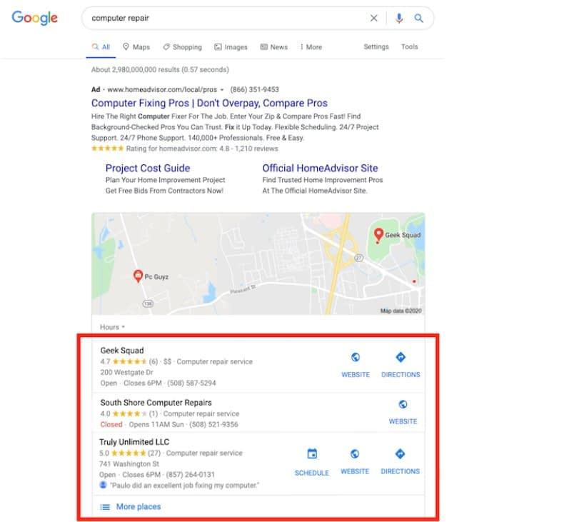mejoran visibilidad en el ranking de google