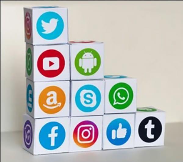 amazon facebook & linkedin