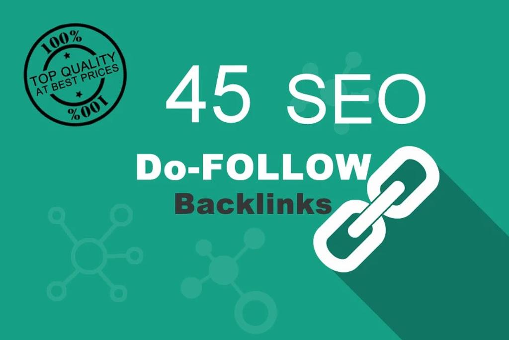 45 backlinks dofollow