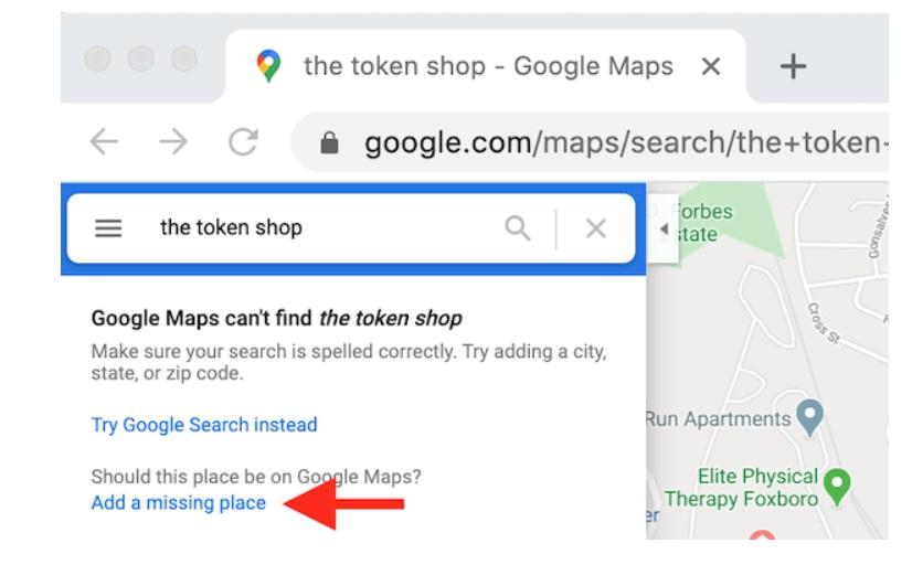 añadir una ficha en Google Maps