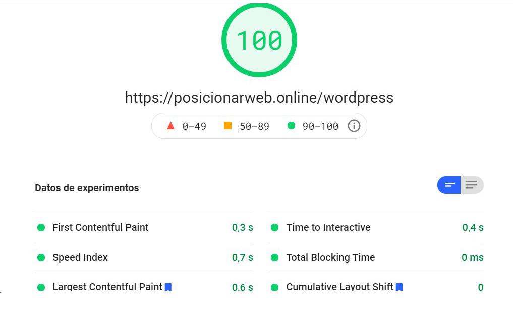mejorando metricas web de GSC